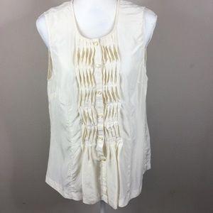 Pendleton Silk Sleeveless Blouse